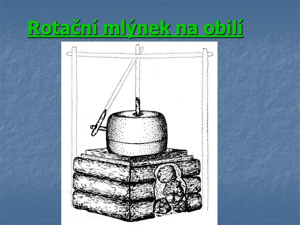 Rotační mlýnek na obilí