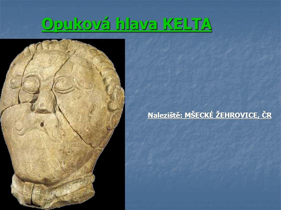 Opuková hlava KELTA Naleziště: MŠECKÉ ŽEHROVICE, ČR