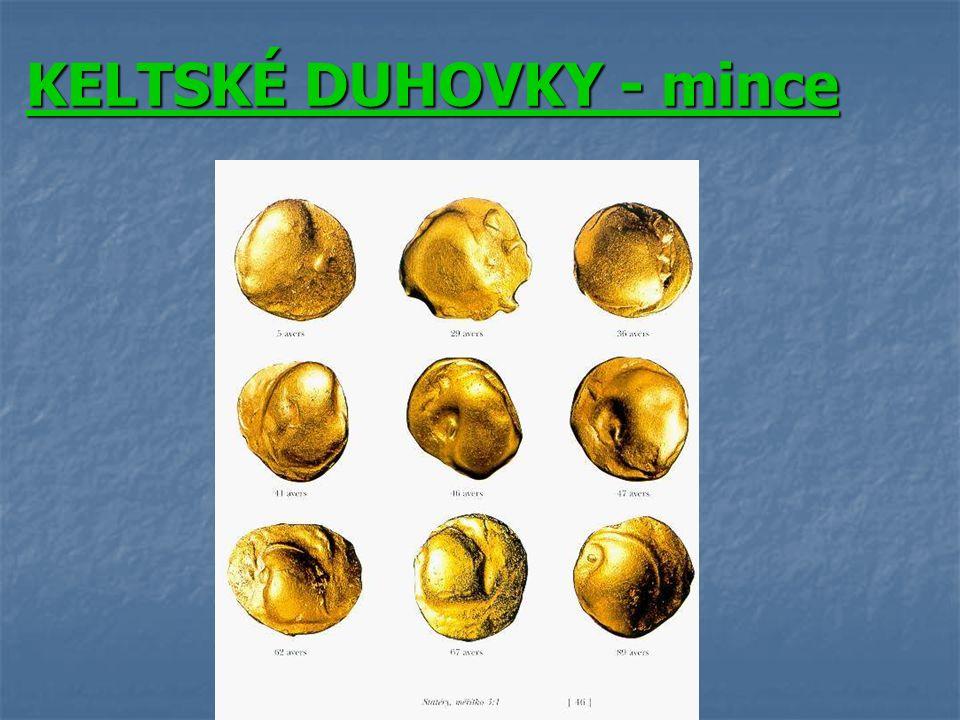 KELTSKÉ DUHOVKY - mince