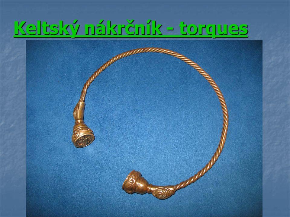 Keltský nákrčník - torques