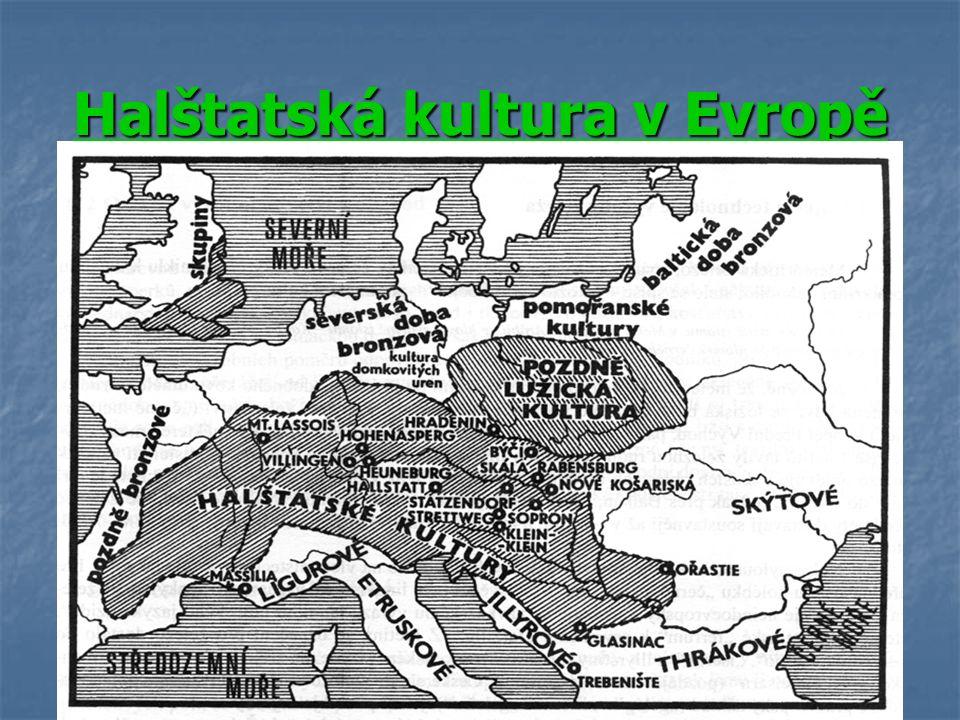 Halštatská kultura v Evropě