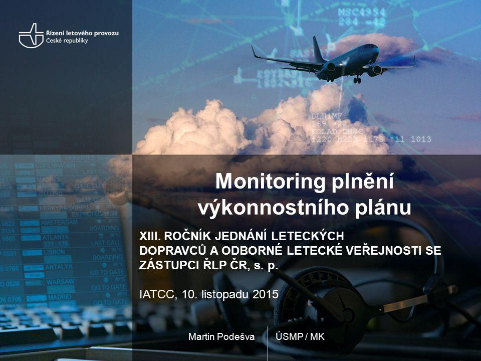 ÚSMP / MKMartin Podešva Monitoring plnění výkonnostního plánu XIII.