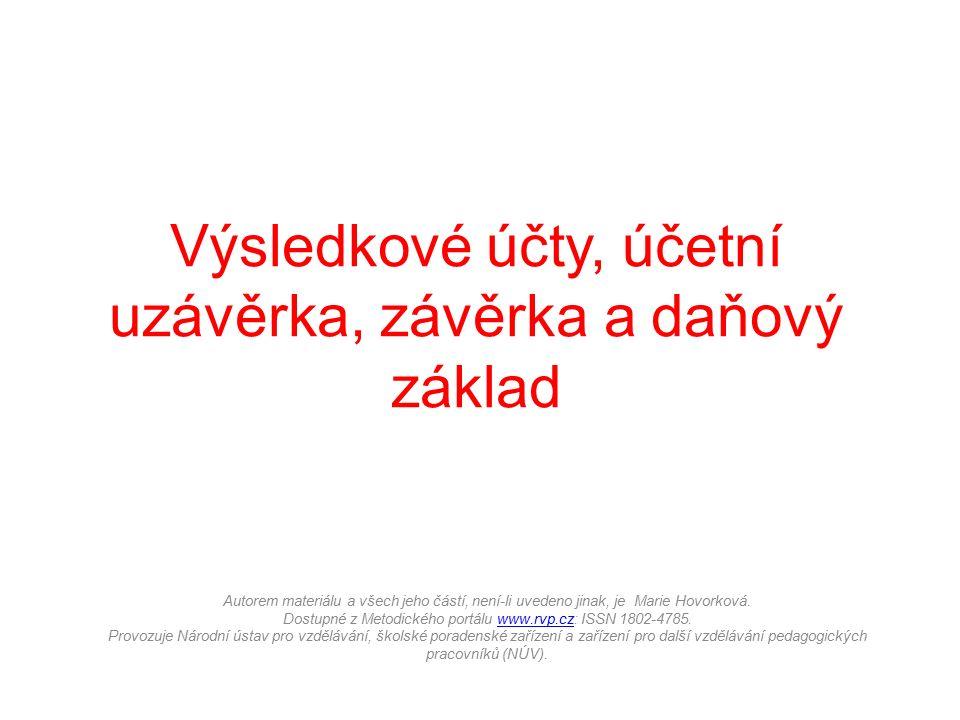 Autorem materiálu a všech jeho částí, není-li uvedeno jinak, je Marie Hovorková.
