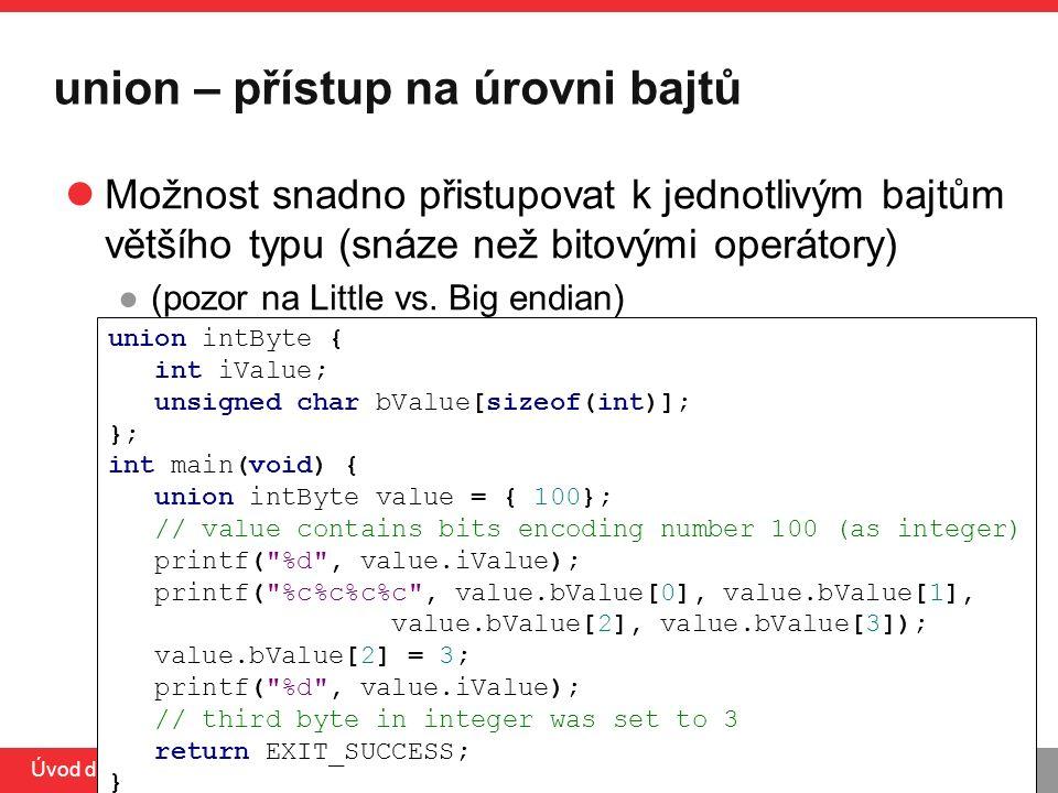 PB071 Úvod do C, 31.3.2014 printf - podrobněji Často používaná funkce ze standardní knihovny ●http://www.cplusplus.com/reference/clibrary/cstdio/printf/http://www.cplusplus.com/reference/clibrary/cstdio/printf/ int printf(const char * format,...); ●%[flags][width][.precision][length]specifier Tabulka běžných formátovacích znaků
