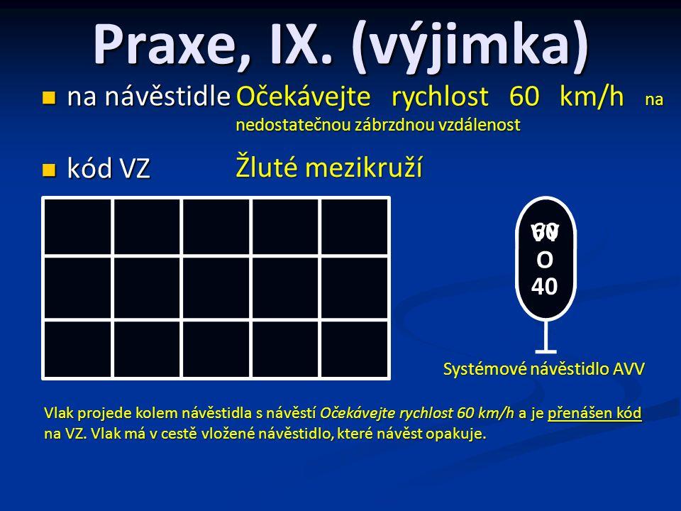 Praxe, IX.