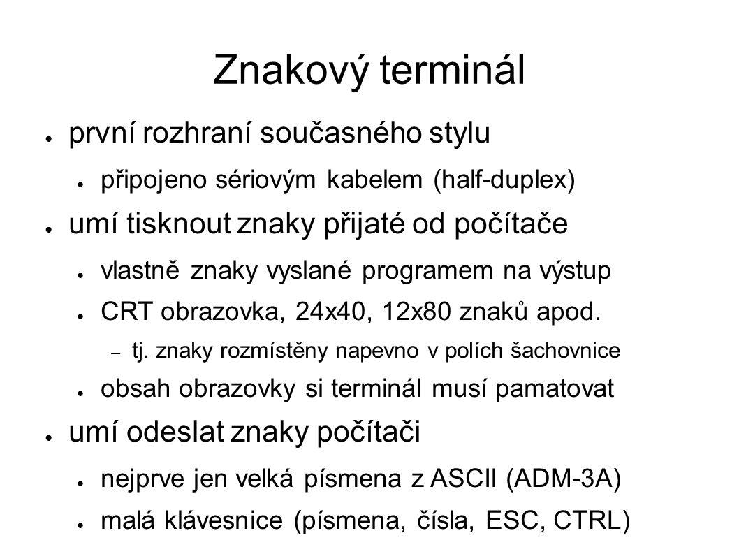 Samostatné terminály http://www.youtube.com/watch?v=7ND6oLXocR0 Zdroj obrázků: wikipedia.org