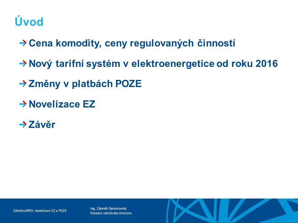 Záměry MPO, novelizace EZ a POZE Ing.