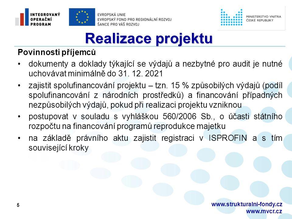 www.strukturalni-fondy.cz www.mvcr.cz IS Benefit 7 www.eu-zadost.cz www.eu-zadost.cz ● BENEFIT_Příručka pro vyplnění MZ HoP ● BENEFIT_Příručka pro vyplnění ZZoP_Expost
