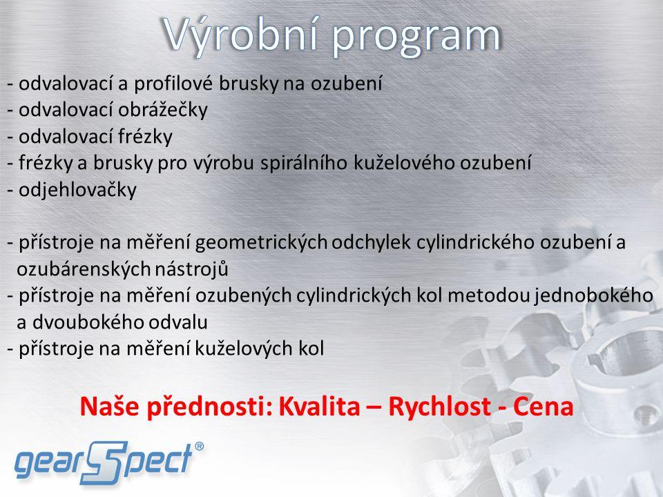 V roce 2010 jsme transformovali naše činnosti a založili obchodně inženýrskou společnost Gearspect Group, a.s., pod kterou jsme včlenili činnosti a provozy:  Strojírna Gearspect, Čelákovice - vývoj a výroba strojů a měřících přístrojů pro ozubení  Strojexport Slovakia – obchodní organizace  Gearspect USA – výroba náhradních dílů, servisní a prodejní středisko  Gearspect India – výroba měřících přístrojů na ozubení, náhradních dílů, servisní a prodejní středisko Gearspect Group a.s.