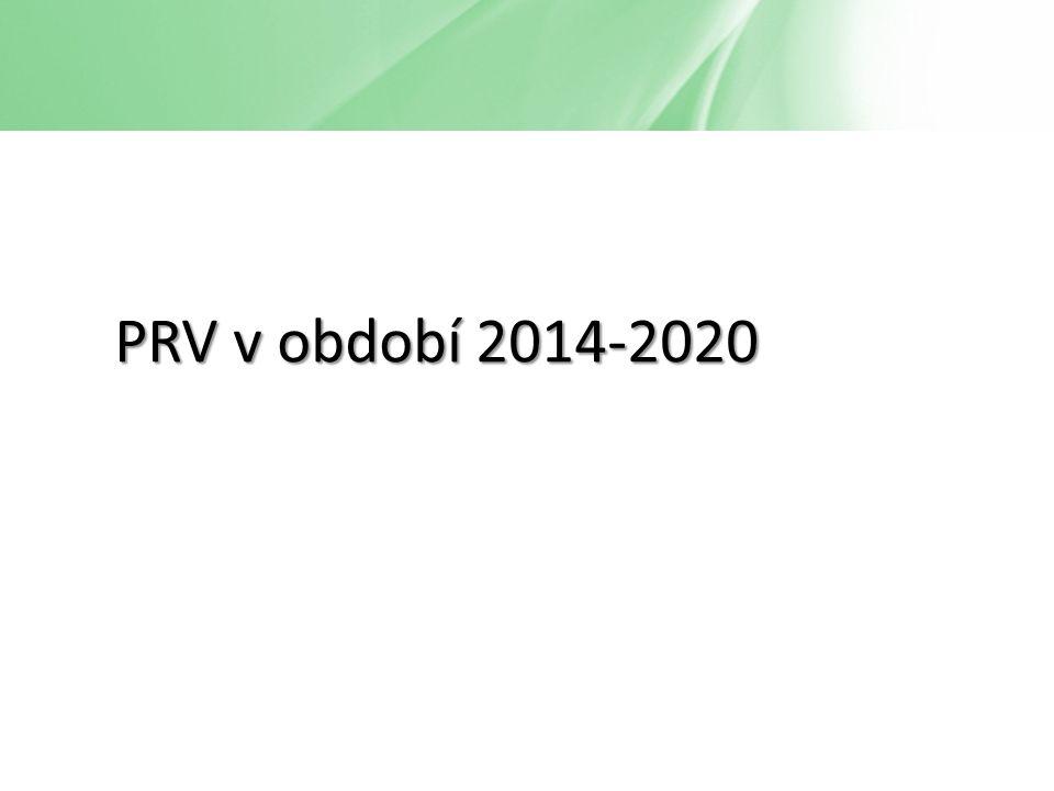 PRV v období 2014-2020