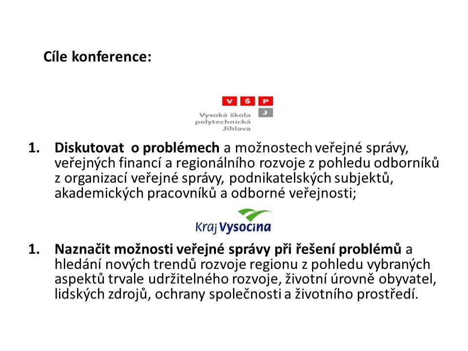 Organizace konference Programový výbor a odborní garanti konference- viz.