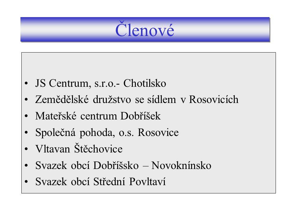 Svazek obcí Dobříšska a Novoknínska Svazek obcí Střední Povltaví.