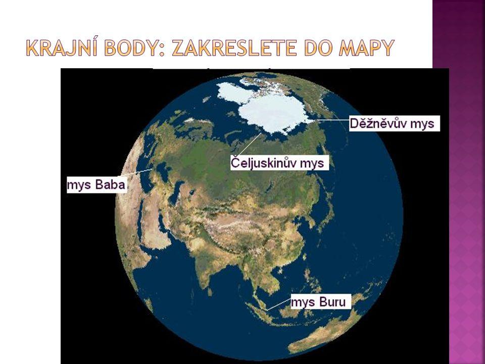  celková rozloha: 44,4 mil km²  pokrývá 30% pevniny Země