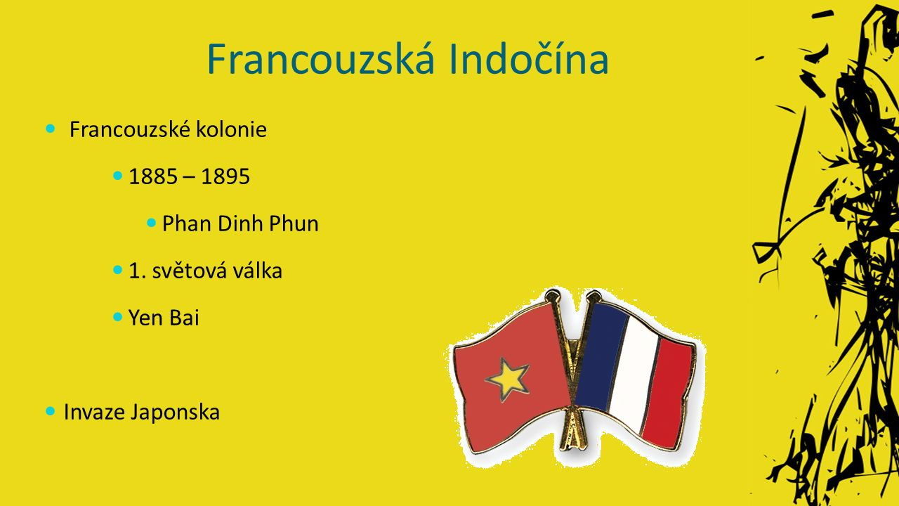 Francouzská Indočína Francouzské kolonie 1885 – 1895 Phan Dinh Phun 1.