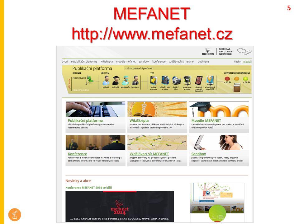 MEFANEThttp://www.mefanet.cz 5