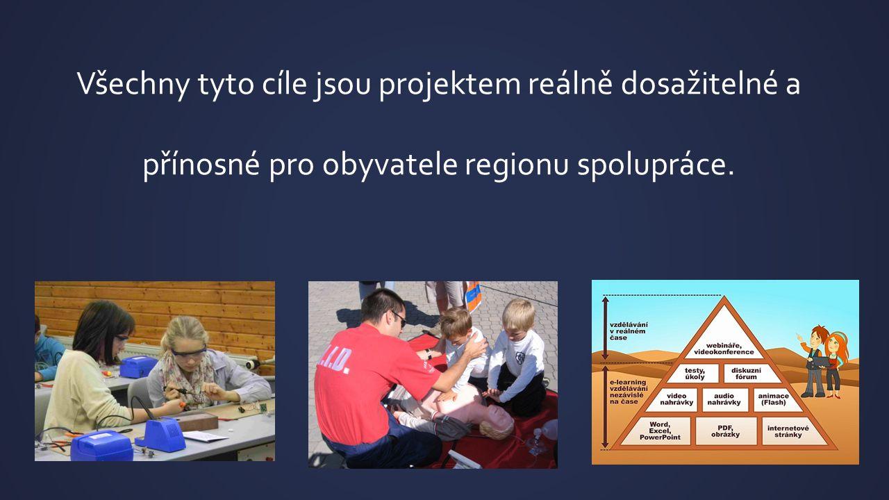 Všechny tyto cíle jsou projektem reálně dosažitelné a přínosné pro obyvatele regionu spolupráce.