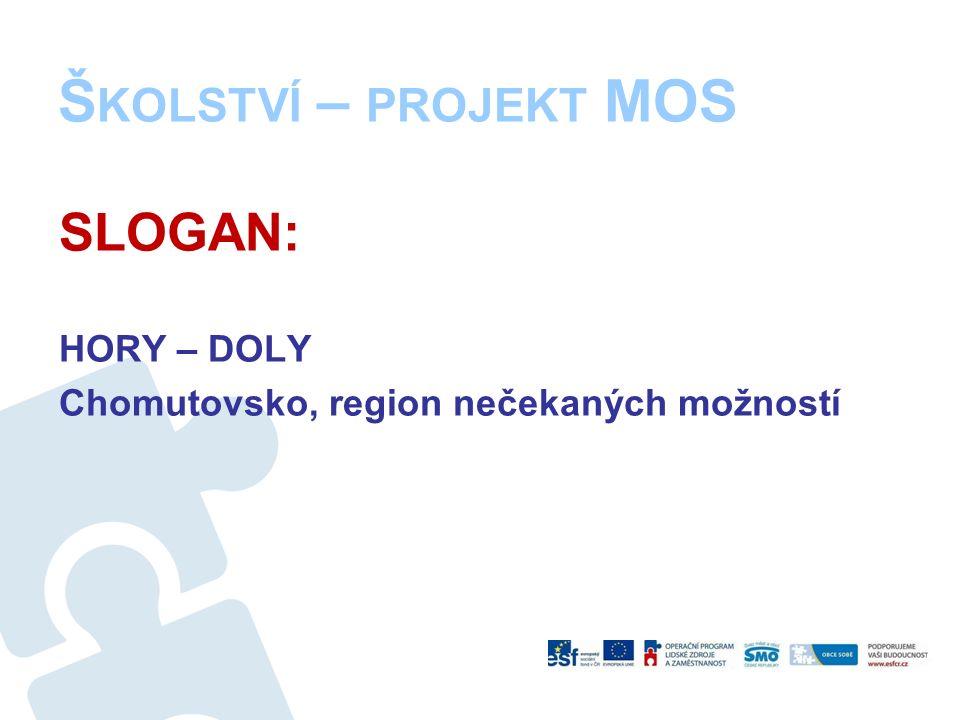 Š KOLSTVÍ – PROJEKT MOS SLOGAN: HORY – DOLY Chomutovsko, region nečekaných možností