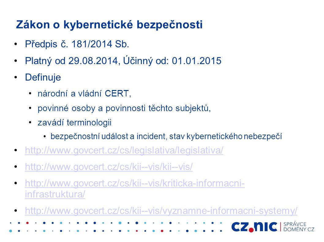 Předpis č. 181/2014 Sb.