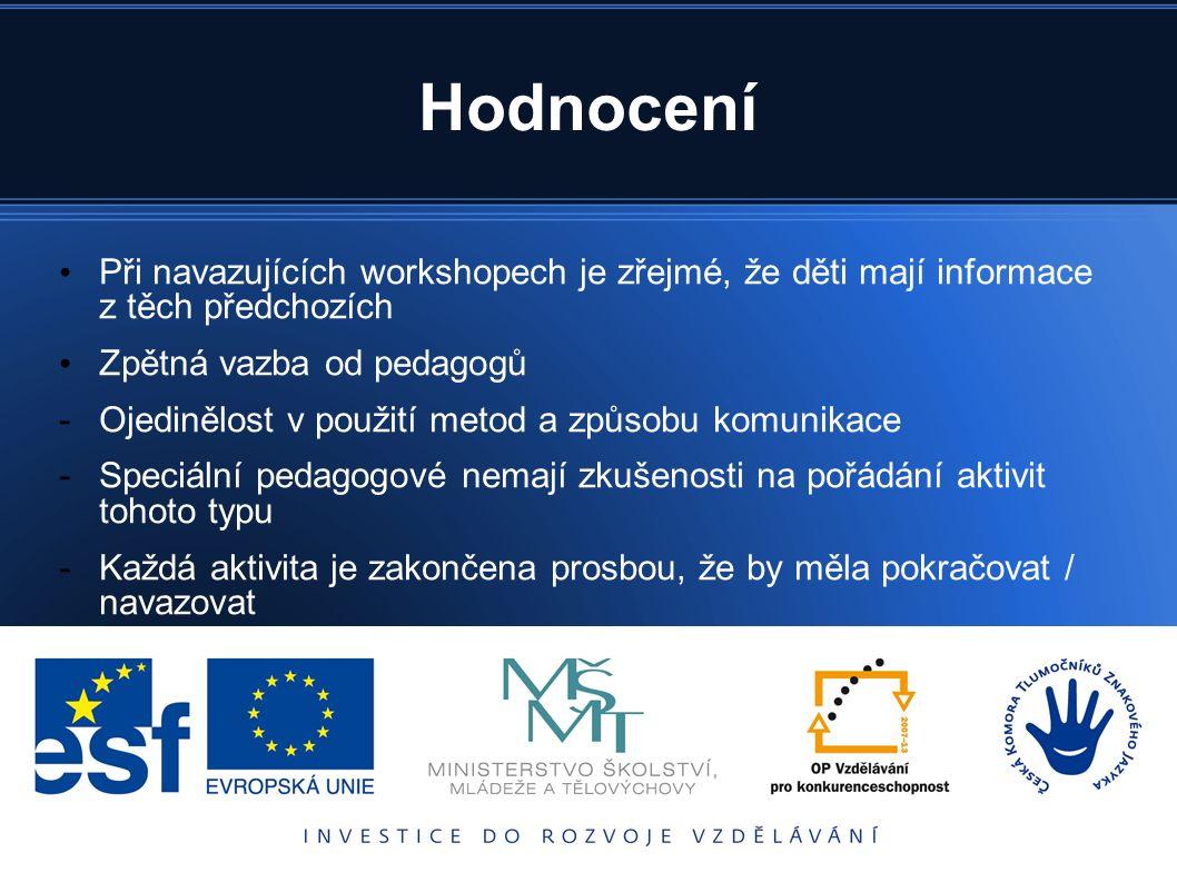 Úspěchy Zážitkové aktivity Bludiště – televizní soutěž pro děti.