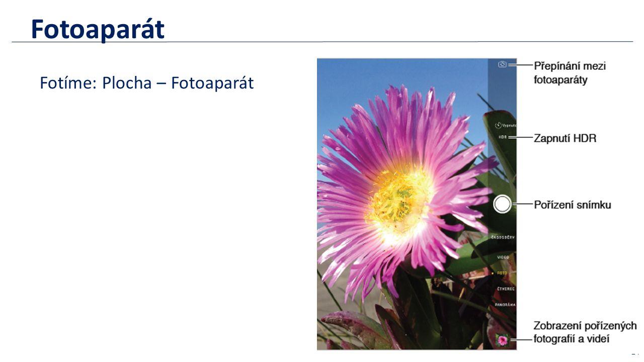 Fotoaparát Fotíme: Plocha – Fotoaparát 24