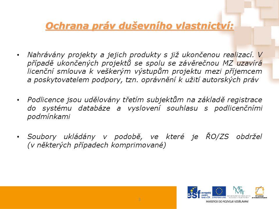 Přihlášení:  https://databaze.op-vk.cz https://databaze.op-vk.cz Oficiálně byla databáze spuštěna k 1.