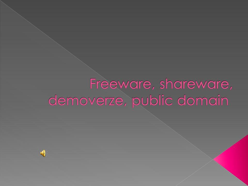  softwerová licence  nechává autorovi autorská práva, ale umožňuje ostatním bezplatný přístup k softwaru  software nesmí být pozměňován  autoři poskytují software pod touto licencí většinou pro prosazení pokrokového nápadu  např.: internetový prohlížeč Google Chrome