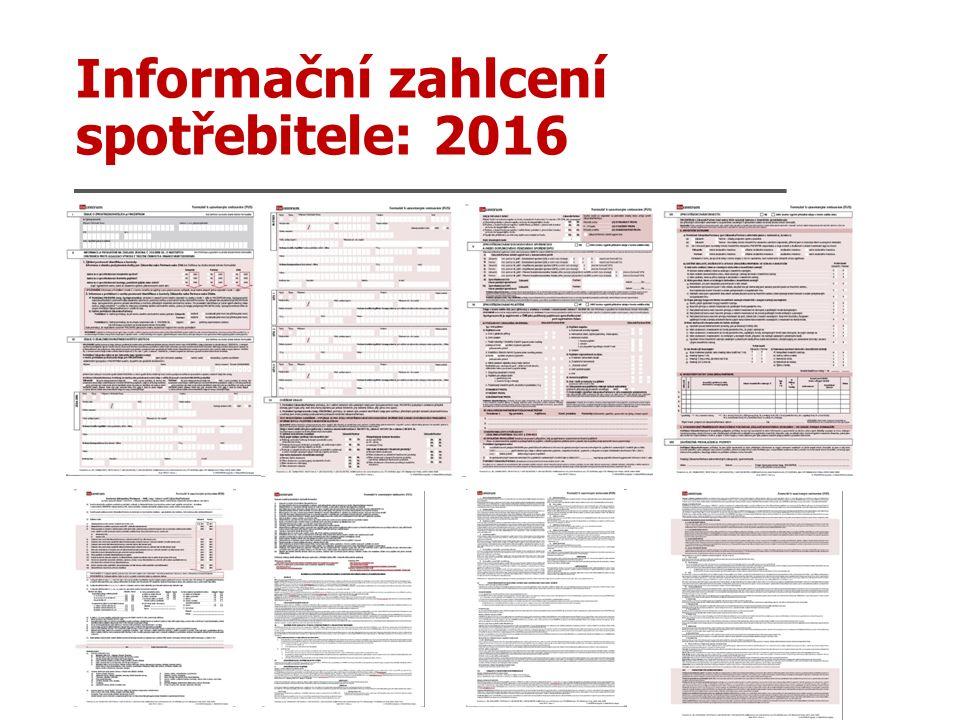 Informační zahlcení spotřebitele: 2016