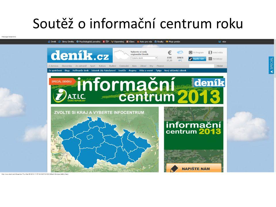 Soutěž o informační centrum roku