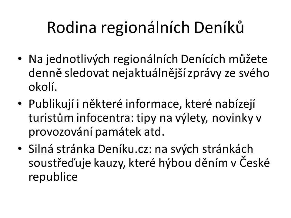 Rodina regionálních Deníků