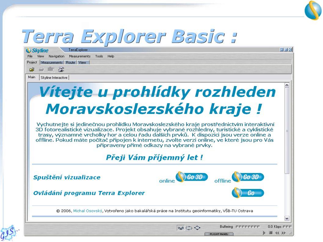 Terra Explorer Basic :