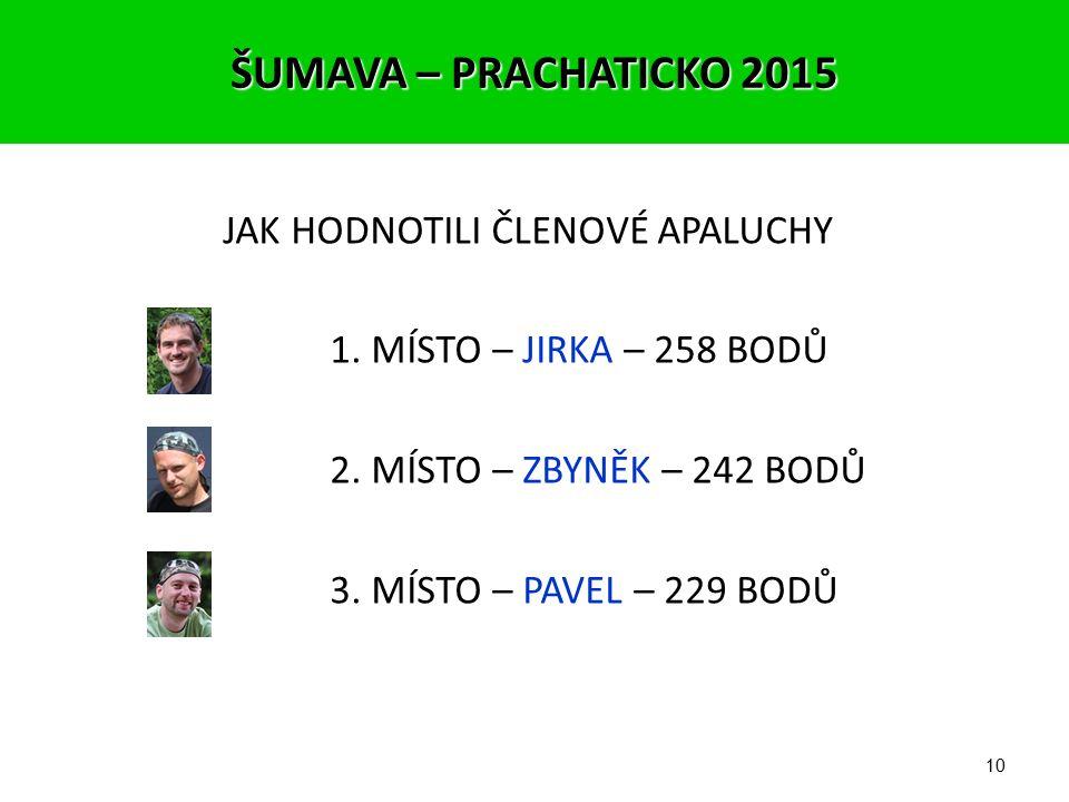 9 3 NEJ záběry podle hlasování členů FotoApaluchy 1. místo 39/45 bodů – Jirka (Street photo) ŠUMAVA – PRACHATICKO 2015