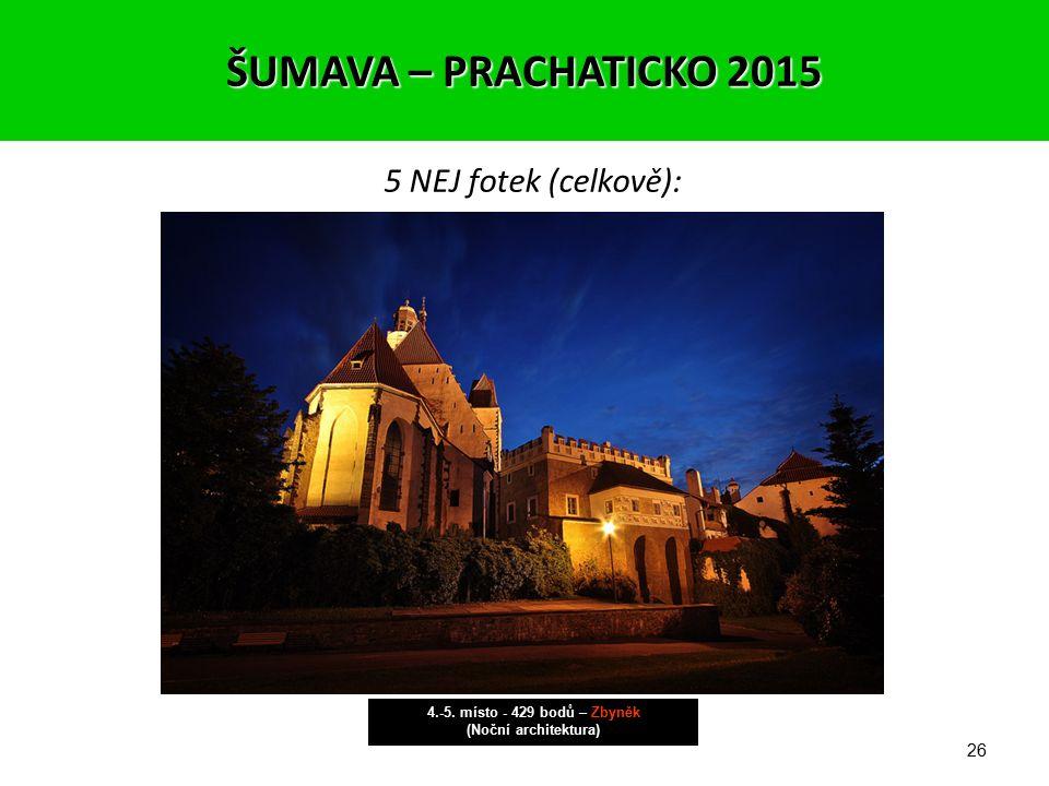 25 ŠUMAVA – PRACHATICKO 2015