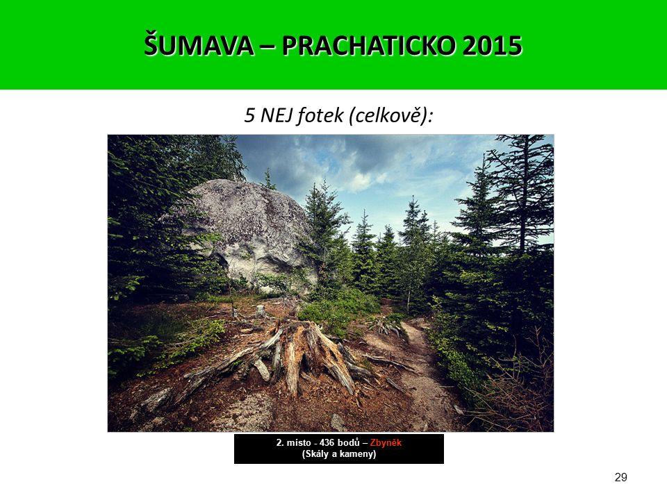 28 5 NEJ fotek (celkově): 3. místo - 430 bodů – Jirka (Street photo) ŠUMAVA – PRACHATICKO 2015