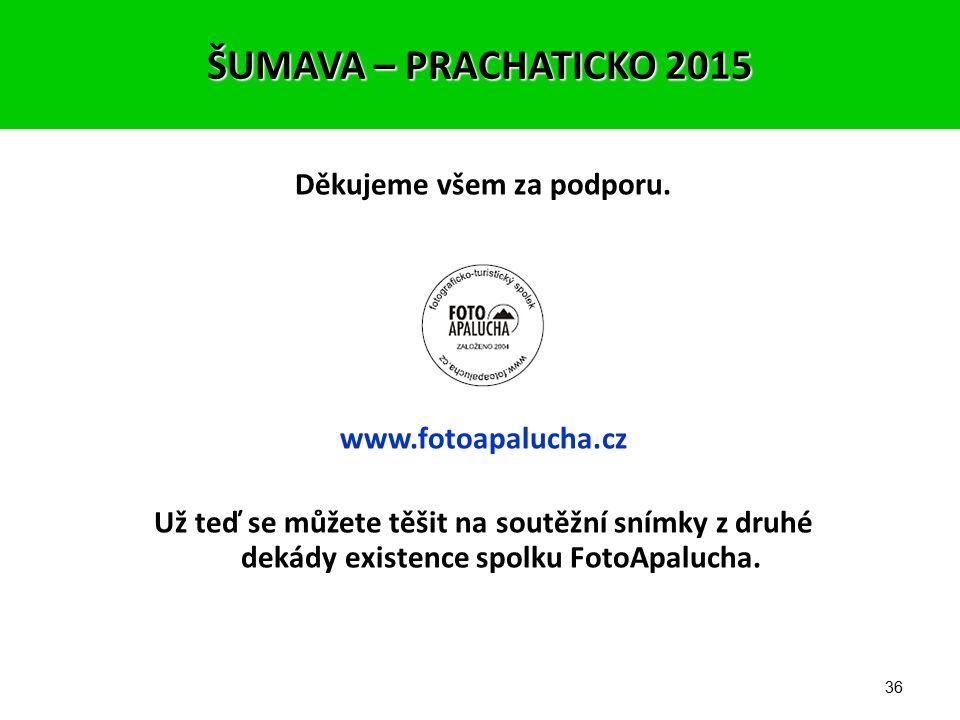 35 Výherci cen z řad hlasujících: 1. cena – vítězné foto – A4 v rámu s podpisem autora Laďka Limbergová 2. cena – originální tričko FotoApalucha 2013