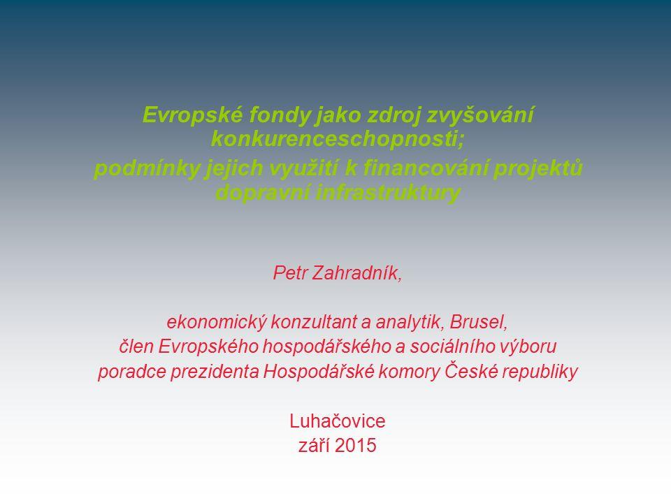 PRIORITY PROGRAMOVACÍHO OBDOBÍ 2014 – 2020 1.