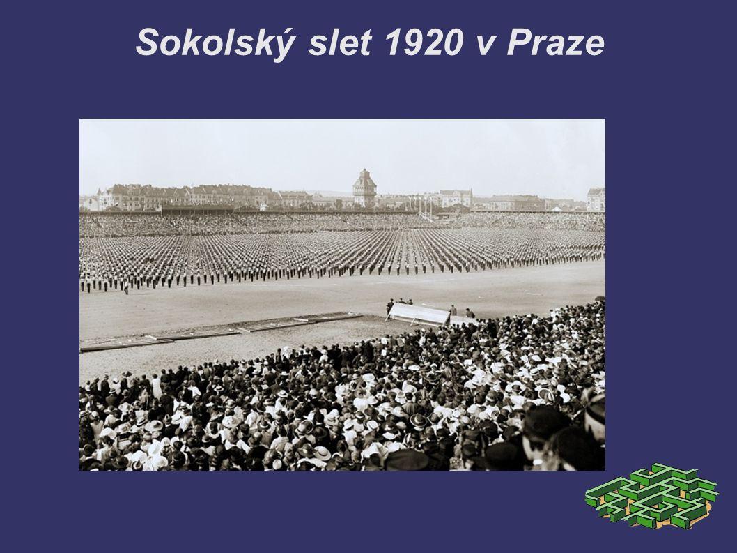 Sokolský slet 1920 v Praze