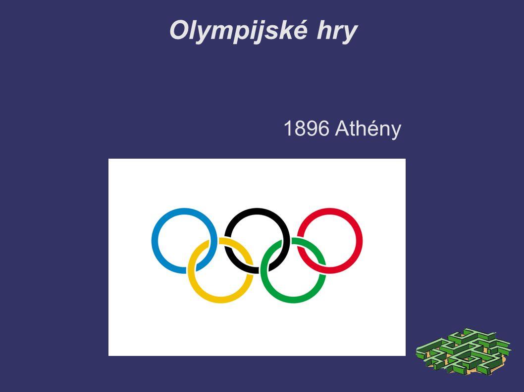 Olympijské hry 1896 Athény