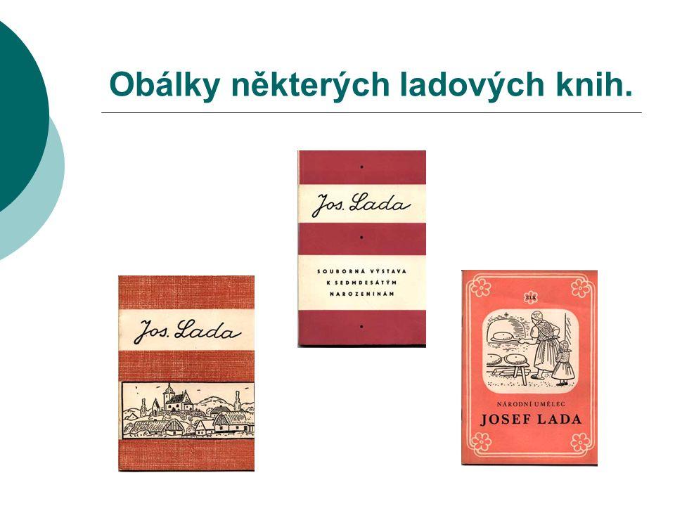 Obálky některých ladových knih.
