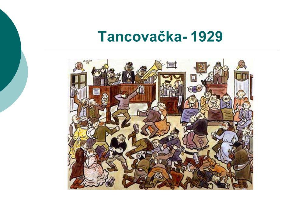 Tancovačka- 1929