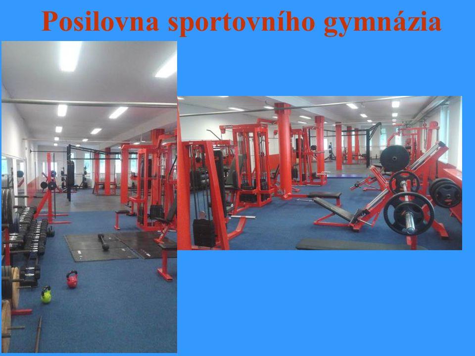 Posilovna sportovního gymnázia
