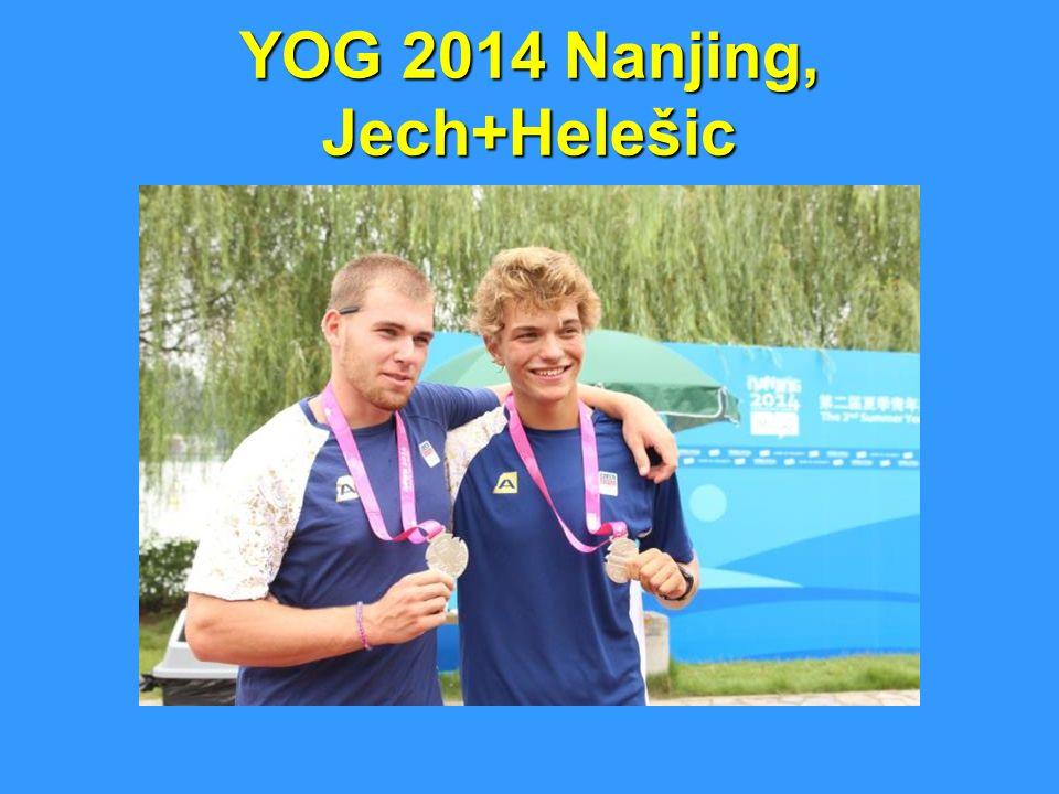 YOG 2014 Nanjing, Jech+Helešic