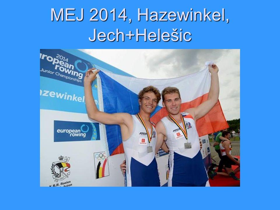 MEJ 2014, Hazewinkel, Jech+Helešic