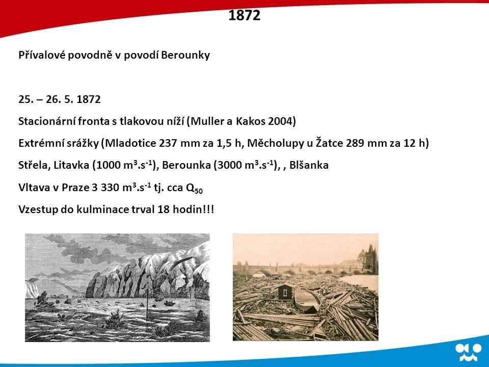 Přívalové povodně v povodí Berounky 25. – 26. 5.