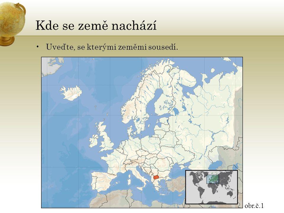 Republika Makedonie hlavní město: SKOPJESKOPJE parlamentní republika pravoslavní a muslimové vznik v roce 1991 oddělením od Jugoslávie obr.č.2