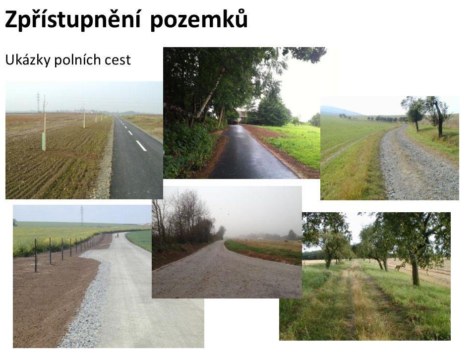 Zpřístupnění pozemků Ukázky polních cest