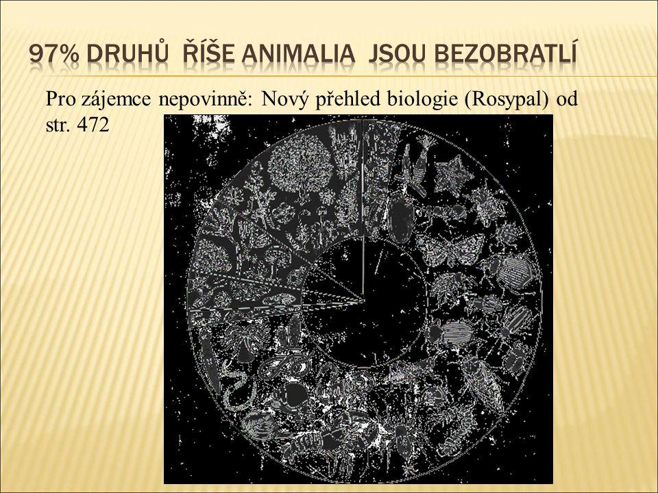 Pro zájemce nepovinně: Nový přehled biologie (Rosypal) od str. 472