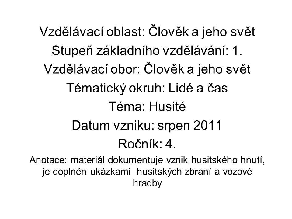 Husitské hnutí 15.