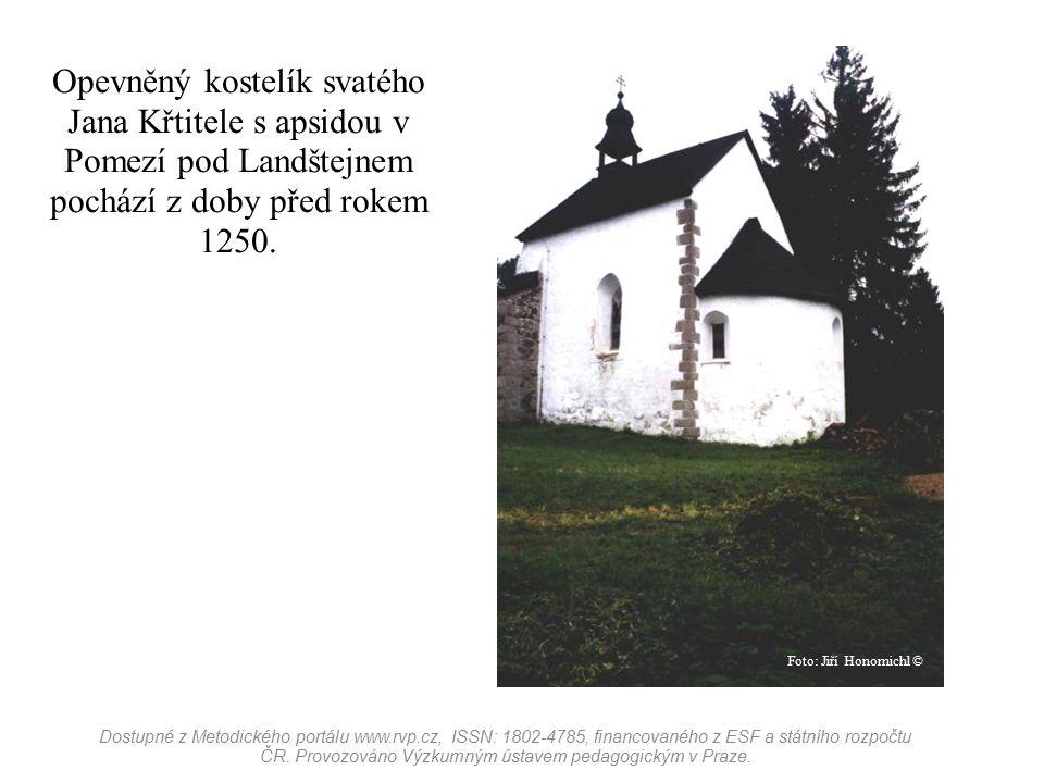 Pozůstatky bývalého kláštera v obci Klášter u Nepomuku, který byl založen knížetem Vladislavem II.