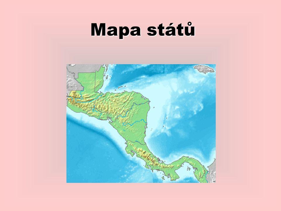Mapa států
