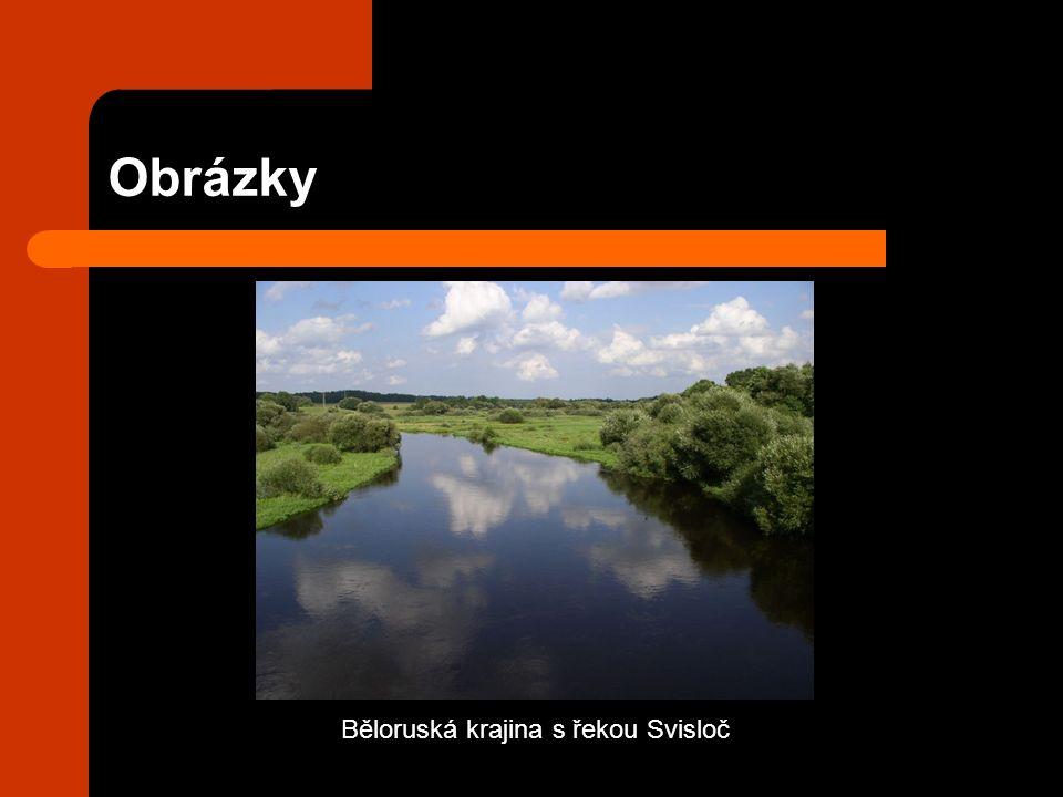 Obrázky Běloruská krajina s řekou Svisloč